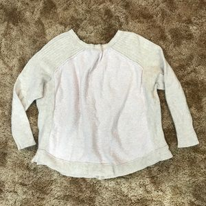 Free People Sweaters - Soft pink knit sweater Free People L